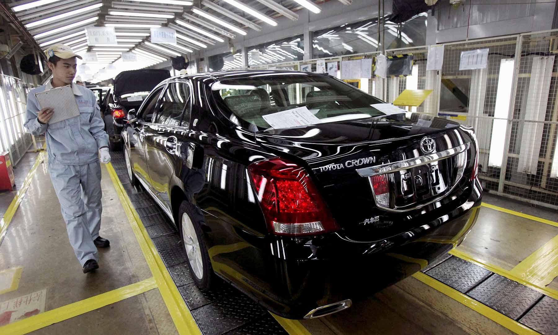 丰田目标2030年在华产量翻倍达350万辆 提高市场份额