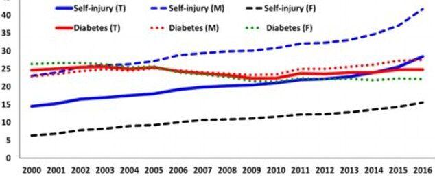 美国自杀和毒瘾致死案例攀升 超糖尿病死亡人数