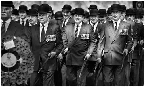 英国绅士几百年没变 只是足球流氓战斗力不如当年