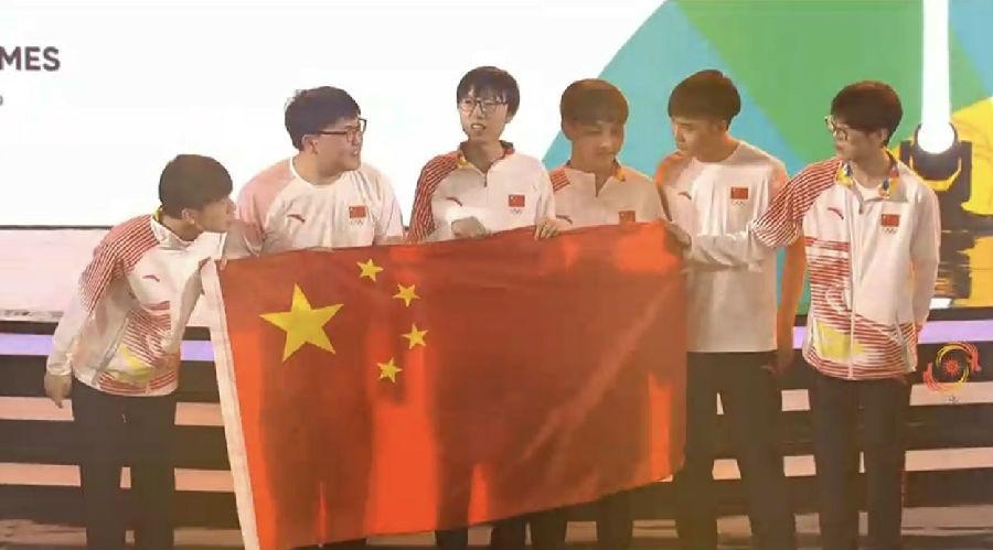 亚运会英雄联盟决赛 平安彩票pa5.com队3:1击败韩国队