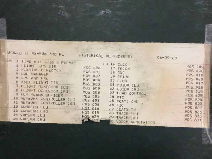 NASA发布阿波罗11号任务音频档案