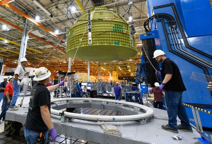 NASA猎户座飞船开始进入最终组装阶段