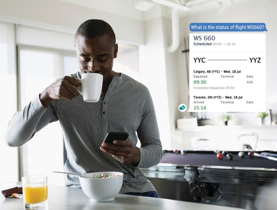 加拿大西捷航空推出首款AI聊天机器人