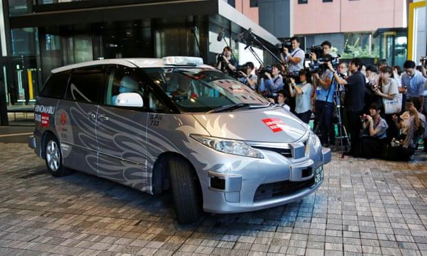 无人驾驶出租车亮相东京 将为2020奥运会提供服务