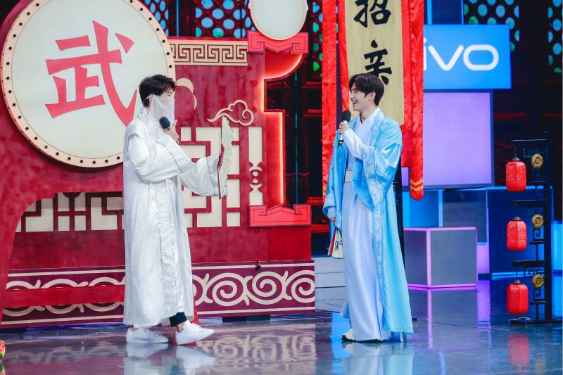 《快乐大本营》杨洋魏大勋古风比美 徐海乔制霸擂台