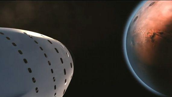 SpaceX分享火星殖民新动向:BFR飞船将成关键