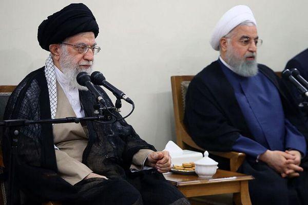 伊朗最高领袖哈梅内伊力挺总统鲁哈尼  反对议会罢免总统