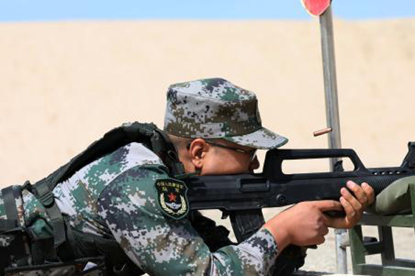 直击新陆军某训练基地轻武器考核现场