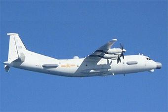 日称中国运9侦察机飞越对马海峡 日派机监视拍摄