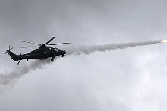 武装直升机打飞机 空空导弹实弹发射训练