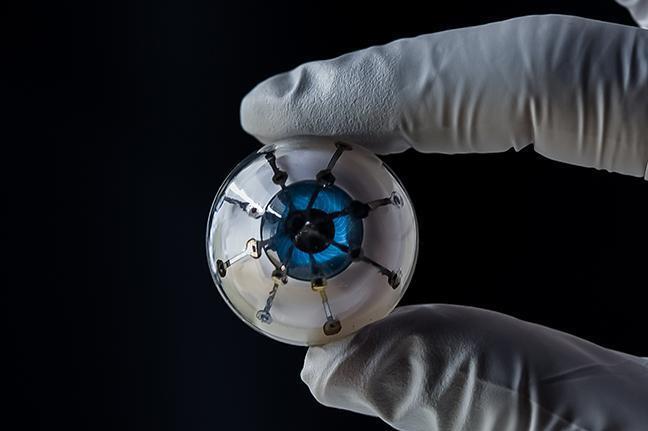 """美研究者研制3D打印""""仿生眼"""" 盲人可以重建光明"""