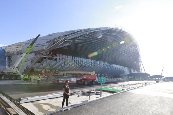 北京新机场航站楼预计明年竣工 将是世界单体最大的航站楼
