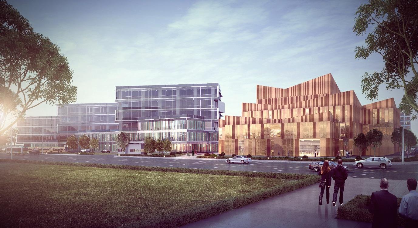 BM宝麦蓝为Nord Anglia设计新国际双语学校温州校区