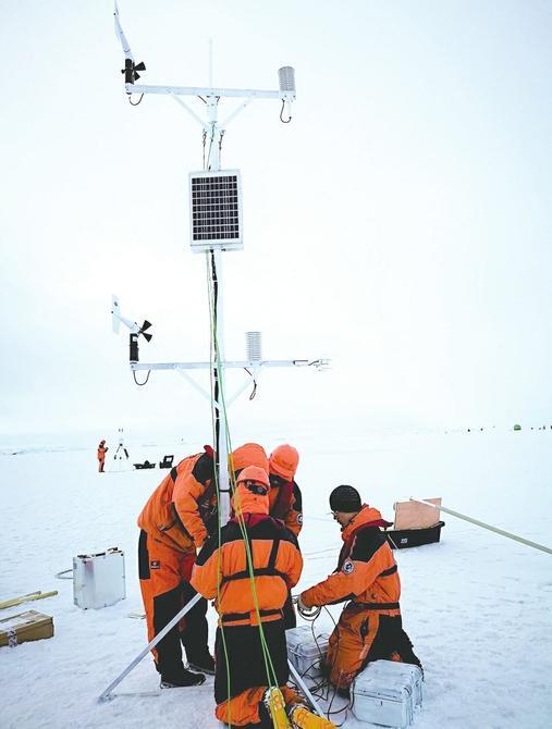北极浮冰上建站是一种什么样的体验?