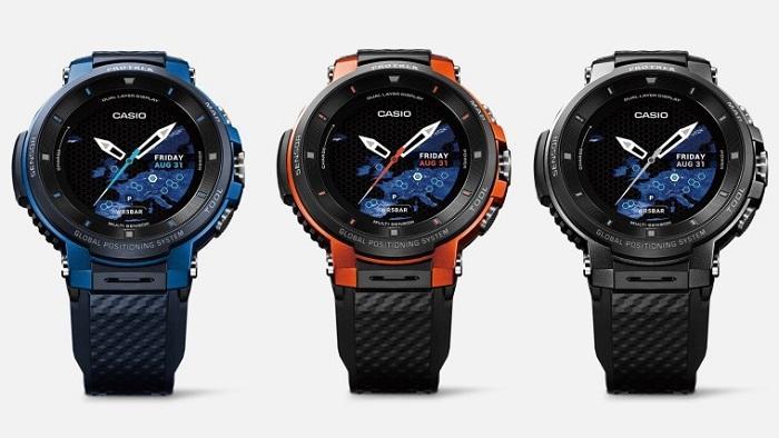 卡西欧推智能手表新品:彩色离线地图+GPS续航改进