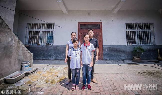 一家6口3人重病1人去世 双胞胎撑起整个家