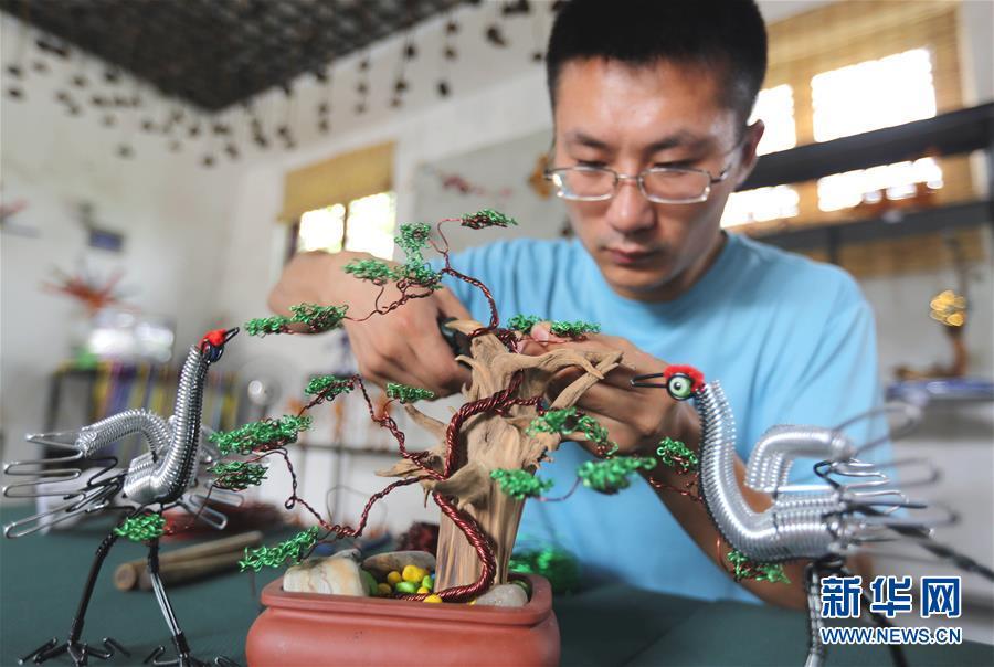 巧手编织 多彩创业