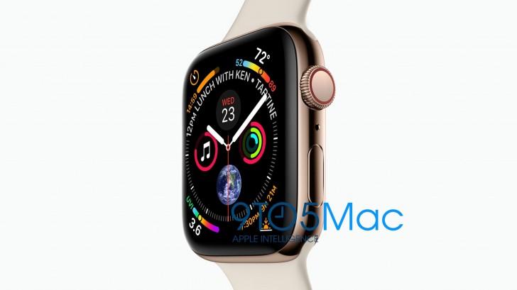 苹果Apple Watch 4曝光:表盘更新换代变化较大