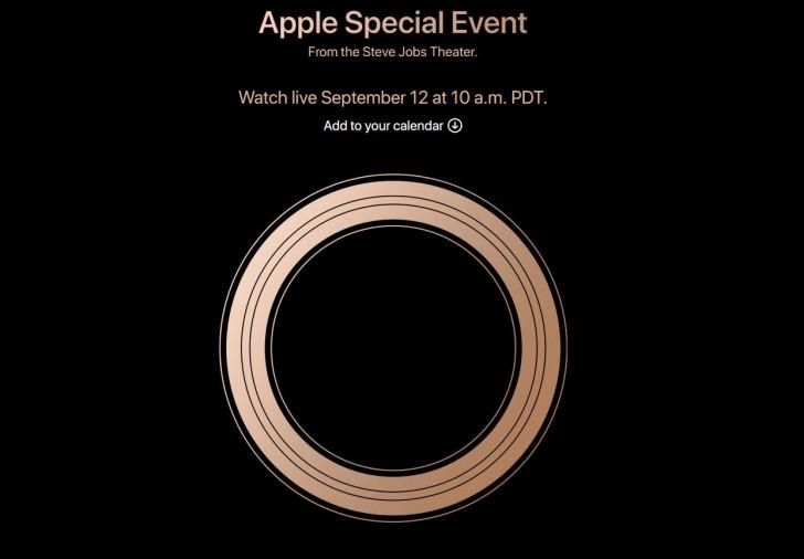 苹果确定9月12日举行新品发布会 2018产品将亮相
