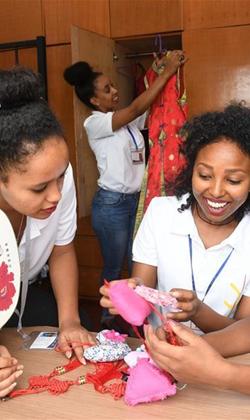 埃塞俄比亚员工感受中国文化