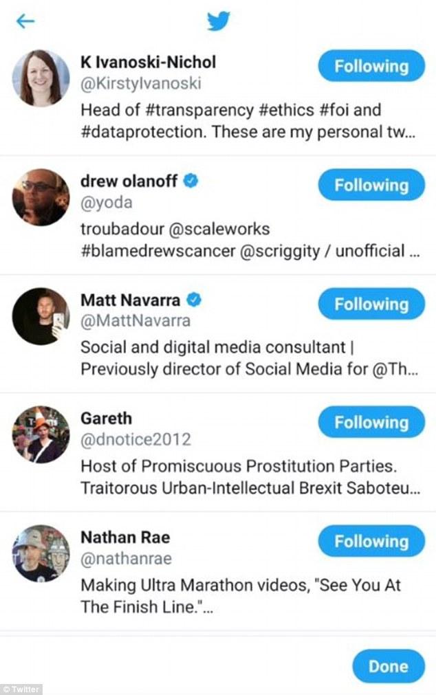 """推特推出新功能""""取关列表"""" 为用户推荐取关的人"""
