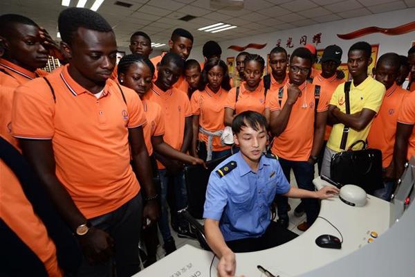 尼日利亚留学生的开学第一课