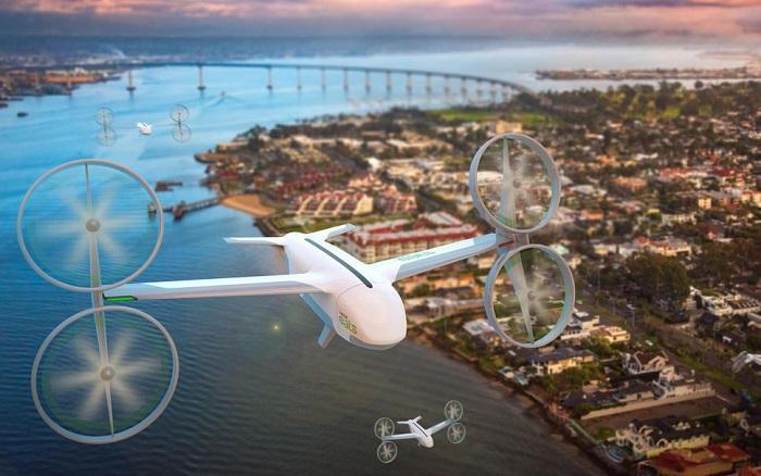"""优步宣传UberAir""""空中叫车""""概念 有望2020年上线"""