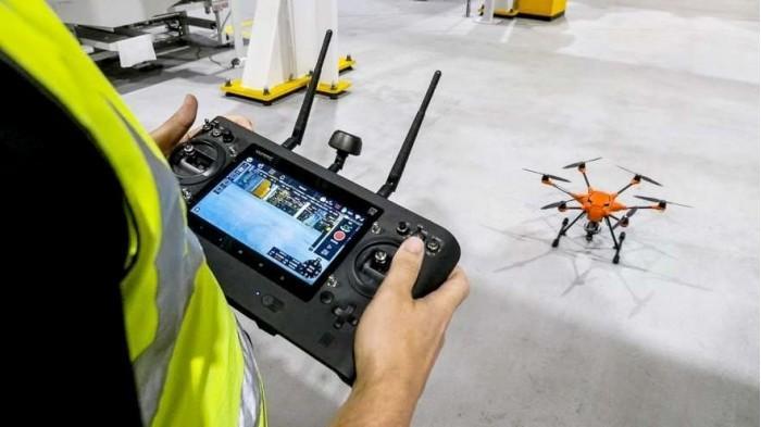 福特启用无人机来替代人工排查生产车间安全隐患