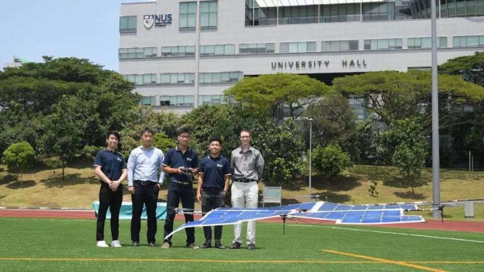 新加坡国立大学成功试飞太阳能四轴无人机