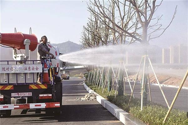 绿化树木 补水降温