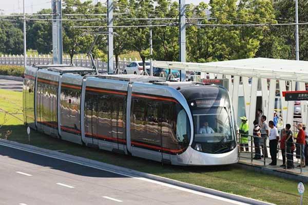 苏州有轨电车2号线开通试运营