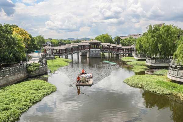 浙江德清:河畅水清 岸绿景美