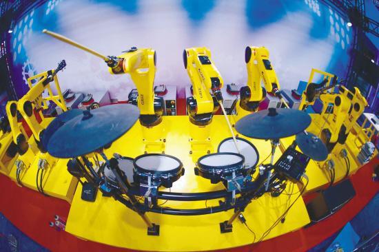 打造有国际竞争力的机器人产业基地