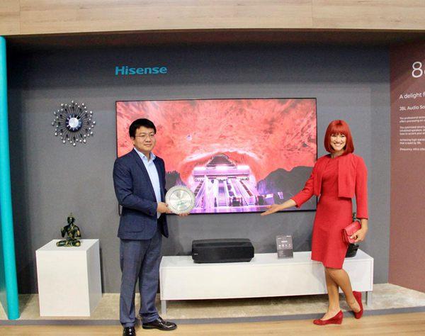 用技术和体验征服世界 海信激光电视IFA展荣获金奖