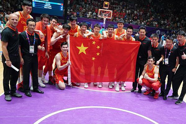 亚运会-中国男篮84-72伊朗男篮