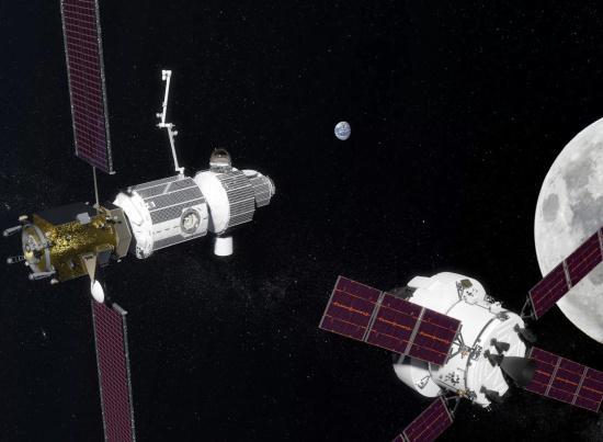 """NASA公布重返月球最详细计划 2024完成""""深空门户""""建造"""