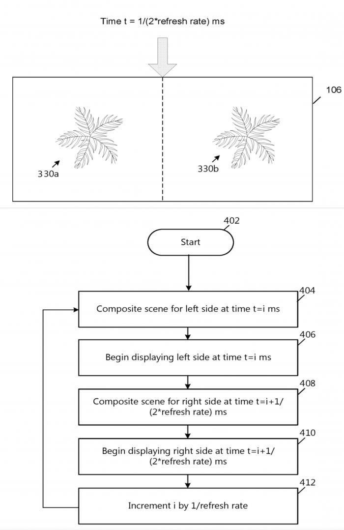 微软新专利:混合现实头显刷新率从60Hz提至120Hz