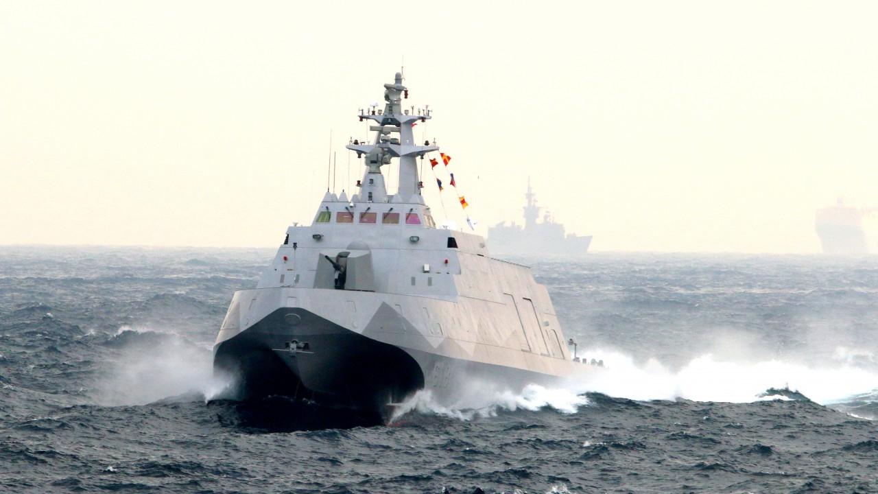 港媒:台军欲造微型导弹艇对解放军发动蜂群攻击