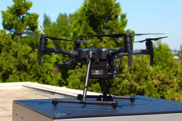 美初创公司开发无线电源系统 可提升大疆无人机续航