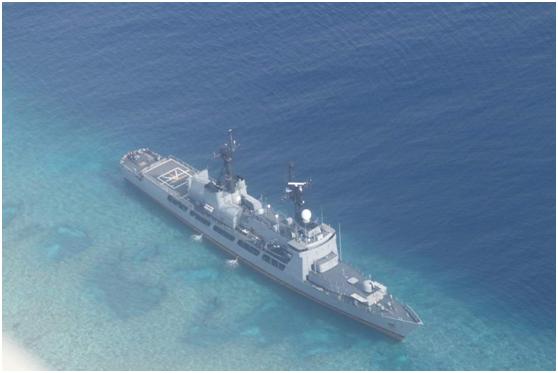 菲称周三移走搁浅军舰 不会造成与中国关系紧张