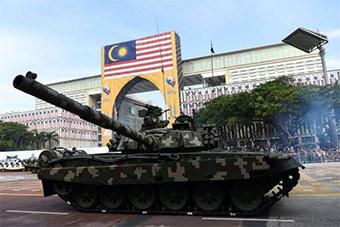 马来西亚盛大阅兵式庆祝独立61周年