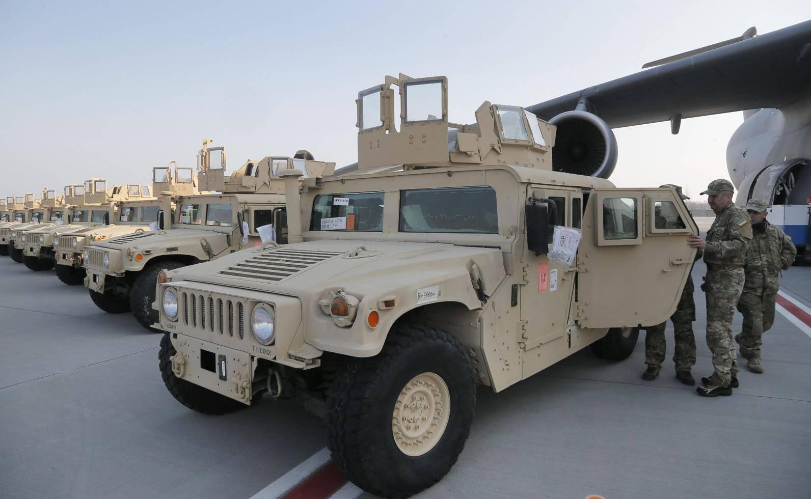 美称将增加对乌克兰武器供应 提供杀伤性武器