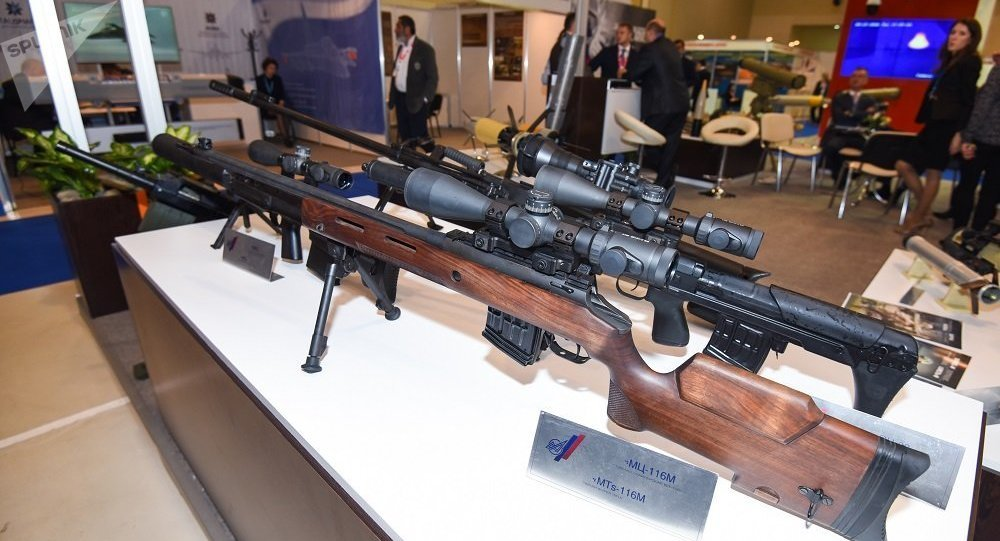 美媒:俄造出最致命狙击枪 12.7的口径还没声音