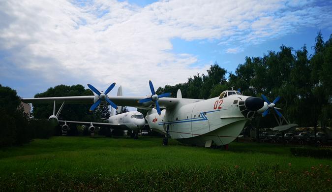 实拍平安彩票pa5.com航空博物馆:带你全面了解平安彩票pa5.com航空史