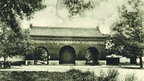 老照片:天坛公园开放百年