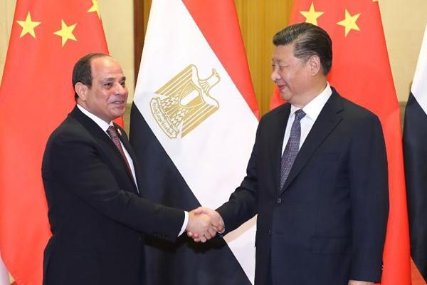 习近平同埃及总统塞西举行会谈