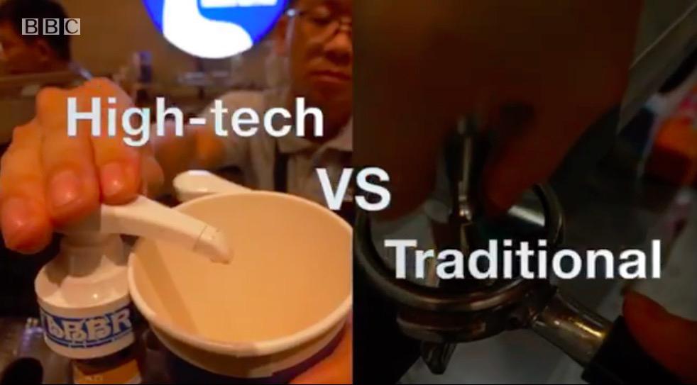 英国BBC: 茶叶大国的咖啡战争