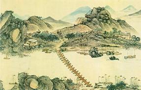 古人如何画万里长江?