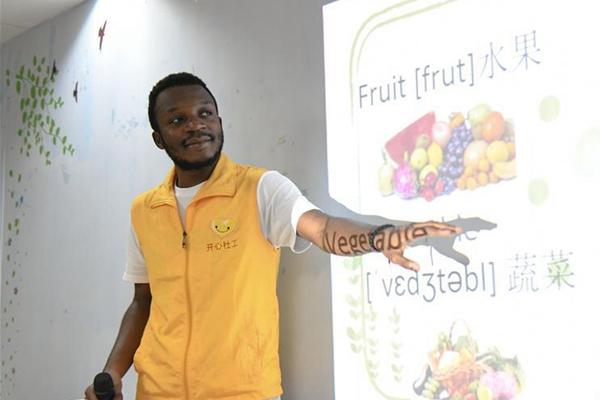 非洲小伙阿里提:志愿活动让我更加融入中国