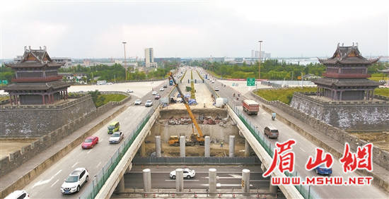 成乐高速扩容工程项目推进